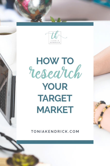 How to research your target market - featured pin