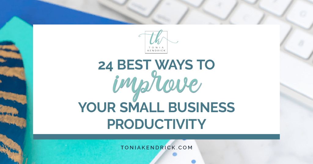 24 Best Ways To Improve Your Small Business Productivity - featured image