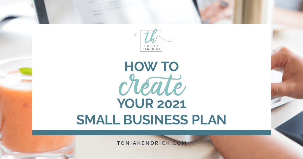 How to create your 2021 small business plan - featured image