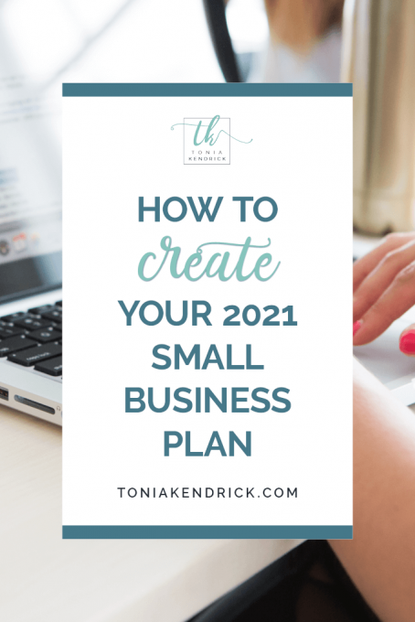 How to create your 2021 small business plan - featured pin