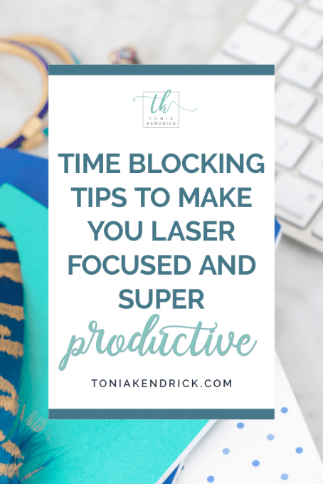 Time Blocking Tips - featured pin