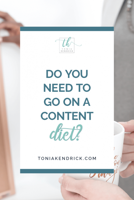 Do You Need to Go on a Content Diet? - featured pin