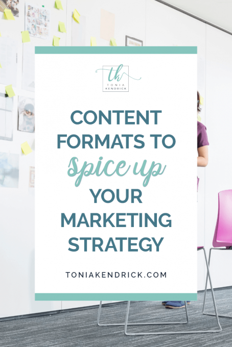 Content Formats to Spice Up Your Marketing Strategy - featured pin