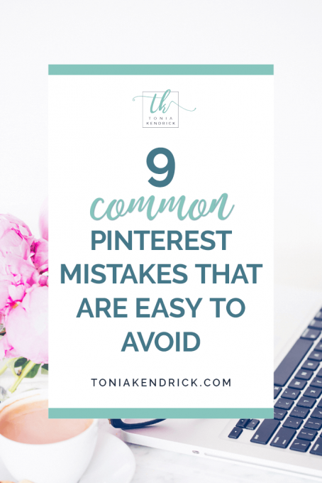 9 Common Pinterest Mistakes That Are Easy to Avoid - featured pin