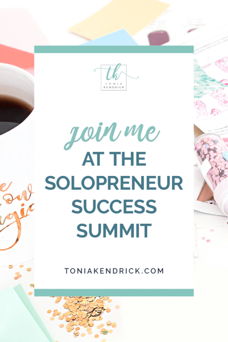 Join Me at the Solopreneur Success Summit - featured pin