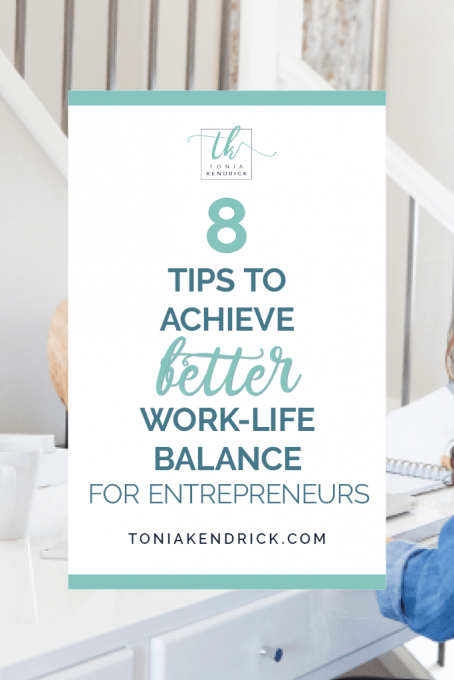 Work-Life Balance for Entrepreneurs - featured pin