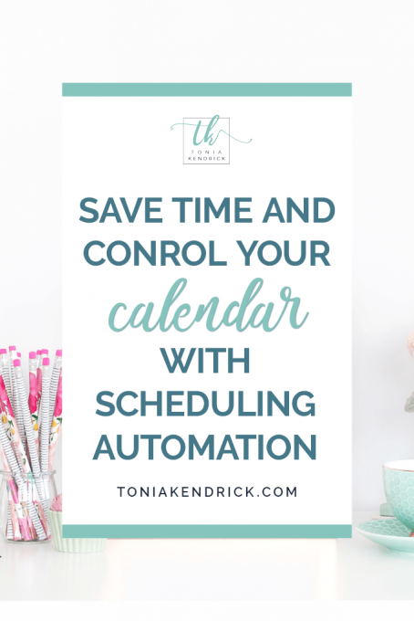 Save Time and Control Your Calendar with Scheduling Automation - featured pin